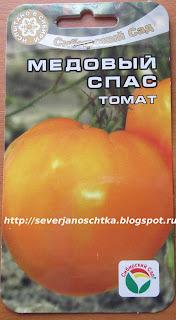 томаты медовый спас