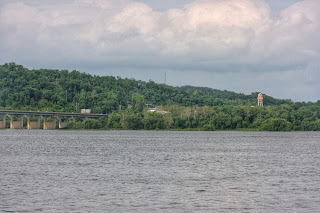 View of Columbia, PA and the Susquehanna from Wrightsville