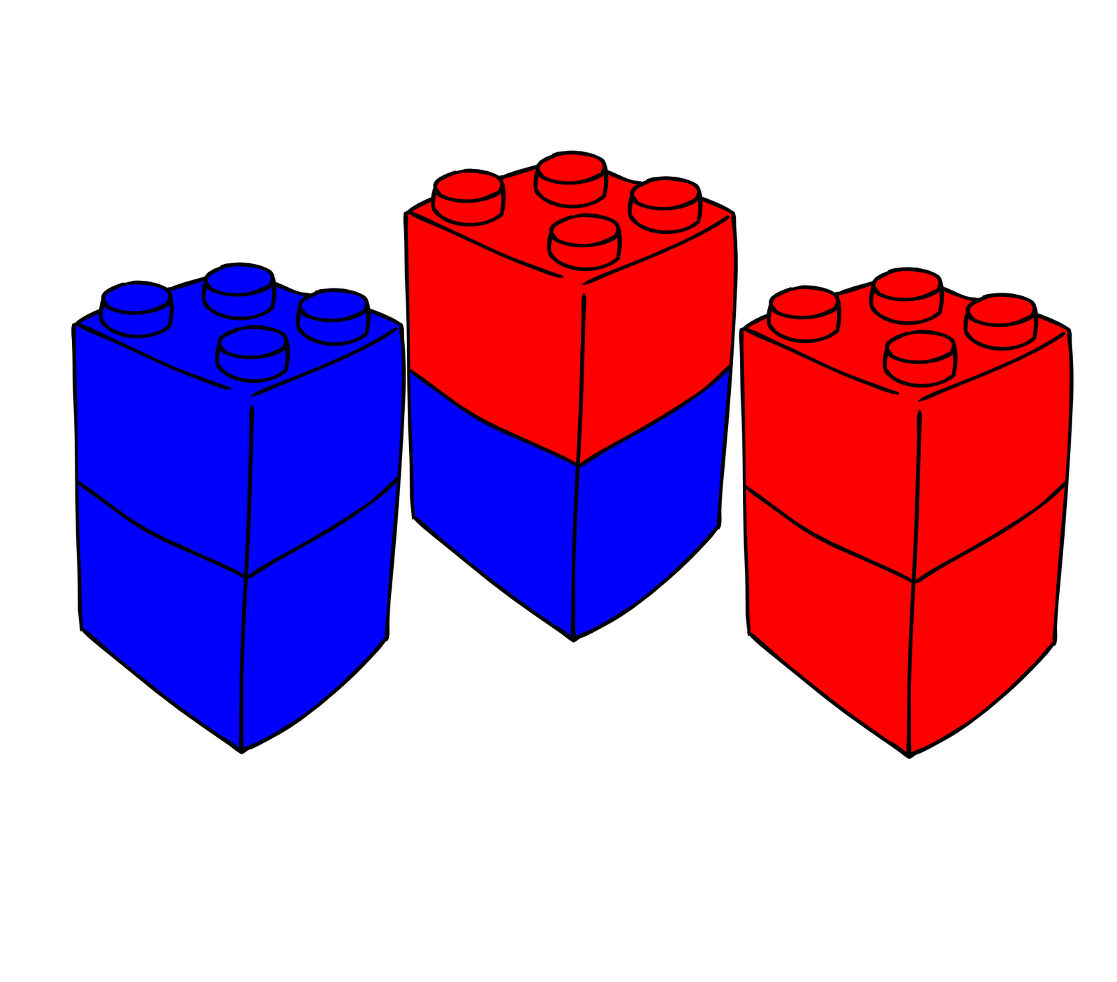 According To This Creationist Argument There Must Be A Stack Of One Red Brick And Blue Fill In The Gap