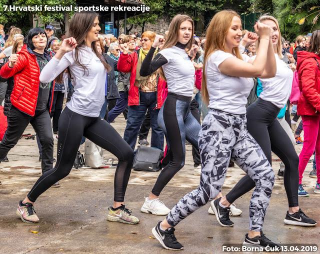 Opatija 13.04.2019. 7.Hrvatski festival sportske rekreacije u nordijskom hodanju i pješačenju
