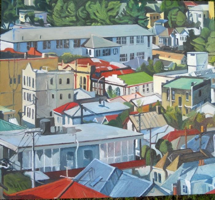 Новозеландский художник. Marianne Muggeridge