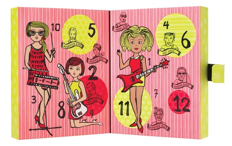 Kalendarz adwentowy Benefit Girl O`clock Rock