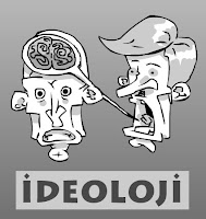 İdeolojiyi anlatan bir karikatür