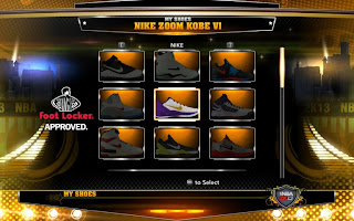 NBA 2K13 Nike Zoom Kobe Bryant VII (7) Shoes