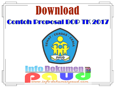 Download Contoh Proposal BOP TK 2017