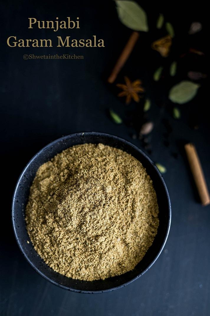 Punjabi Garam Masala Recipe - Shweta in the Kitchen
