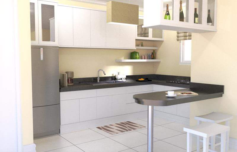 simple kitchen design ideas philippines  SMALL KITCHEN DESIGN IDEAS FOR BEAUTIFUL SMALL SIMPLE HOUSE - Bahay OFW