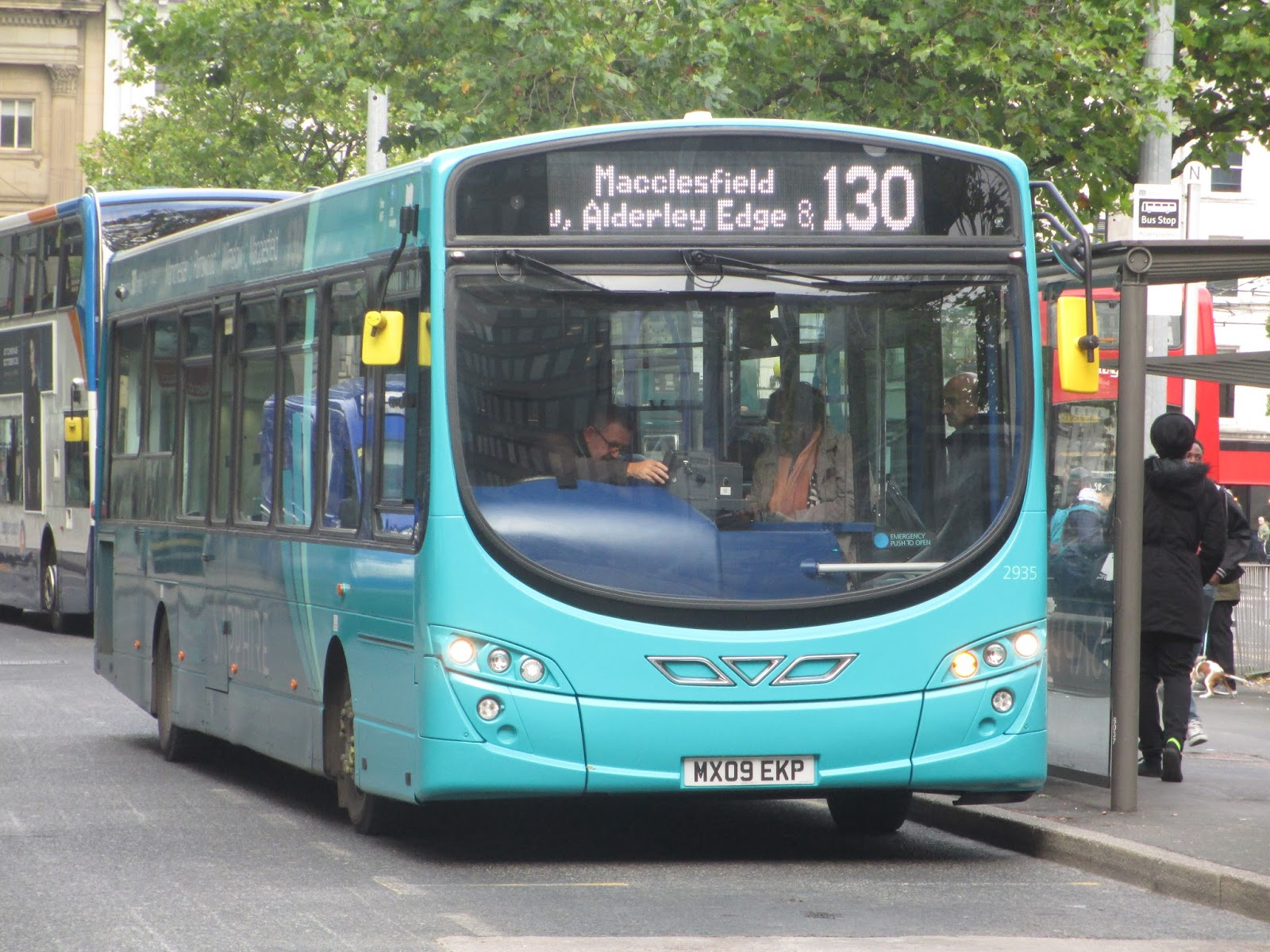 The 2002 Bus Blog Arriva 130 Manchester Macclesfield