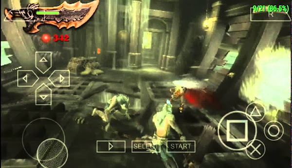 God Of War: Ghost Of Sparta (EUR) PSP ISO Screenshots #3