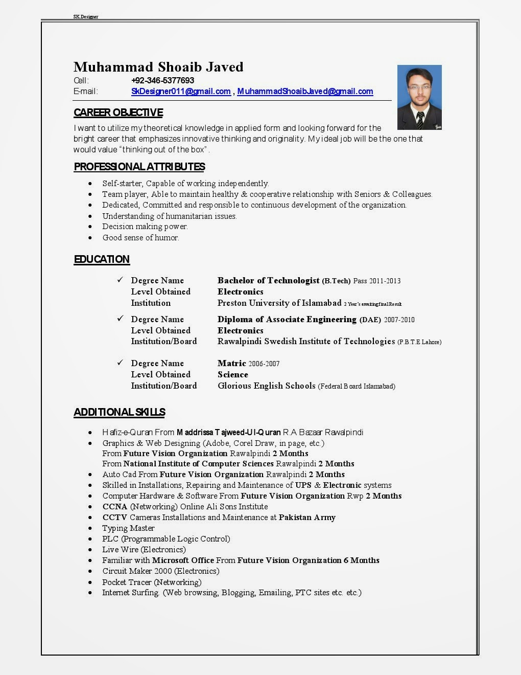 Professional resume writing services dubai
