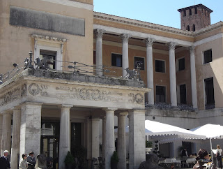 The Caffè  Pedrocchi is an historic meeting place for students and intellectuals in Padua