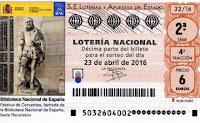 loteria nacional 23 abril 2016
