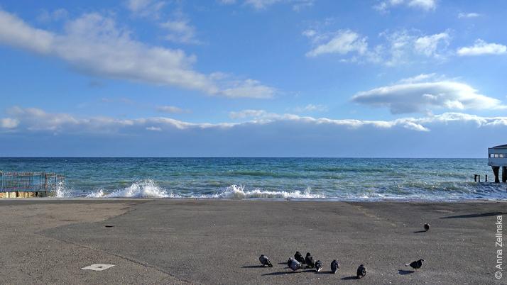 Черное море, Алушта