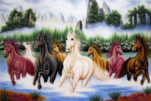 Ngựa biểu tượng cho sự bền bỉ, kiên nhẫn