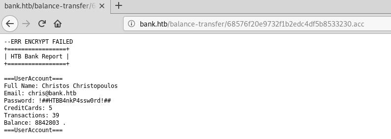 Whitelist: Bank
