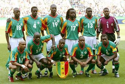 Pemain Senegal pada debut 2002