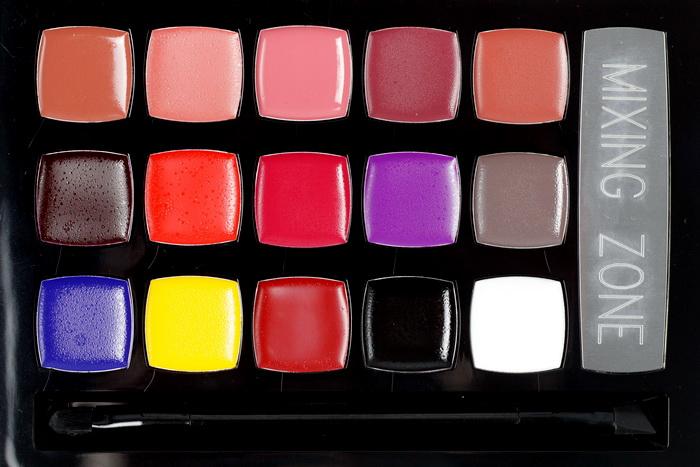 CATRICE Lip Artist Pro Palette Farben
