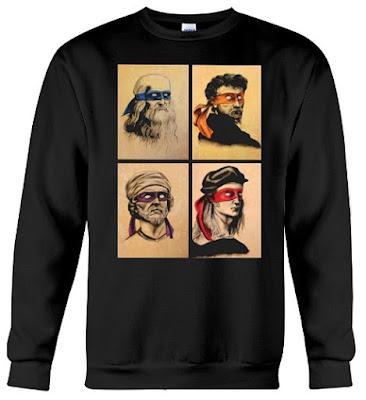 Renaissance Artists Ninja Turtles Hoodie Sweatshirt