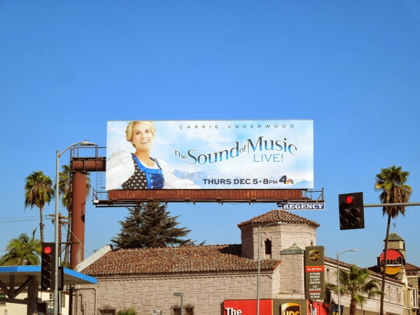 Sound of Music Live billboard
