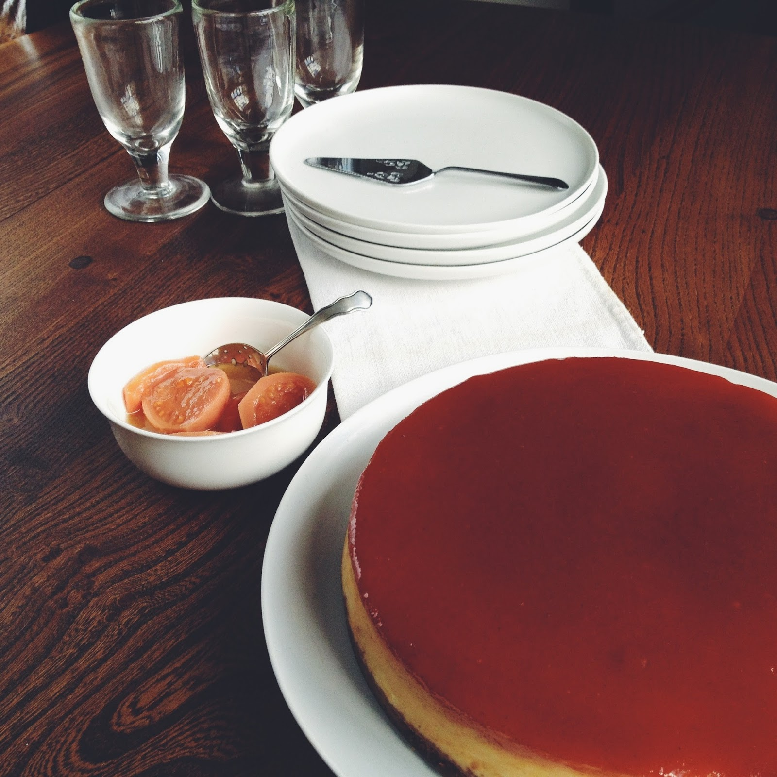 Dinner At Jamie Oliver And The Dreamy Cheesecake By Hot