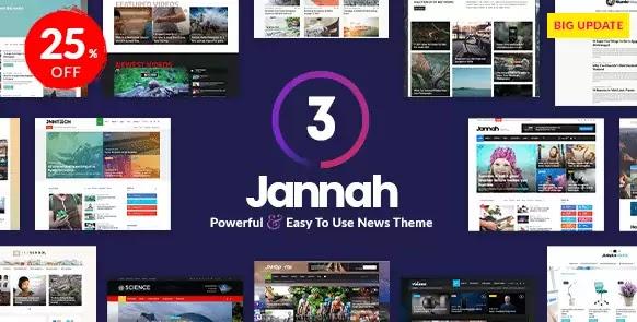 Jannah News v3.2.0 - Berita Majalah Koran AMP BuddyPress