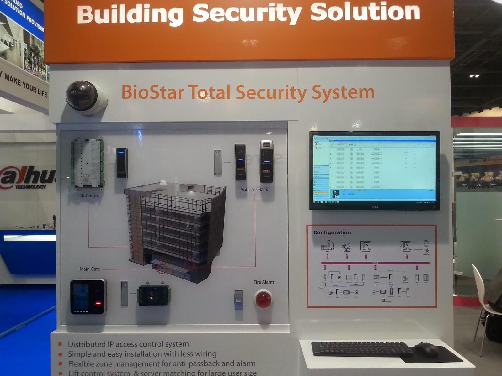 sistemas biometricos en IFSEC