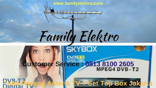 Family Elektro ~ Teknisi Servis Antena TV Selong Jakarta Selatan