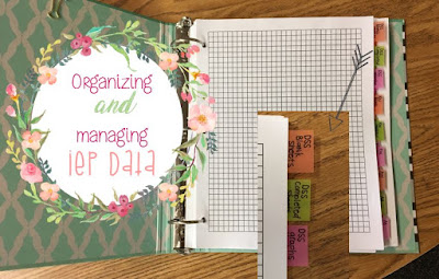 Managing and Organizing IEP Data in Special Education
