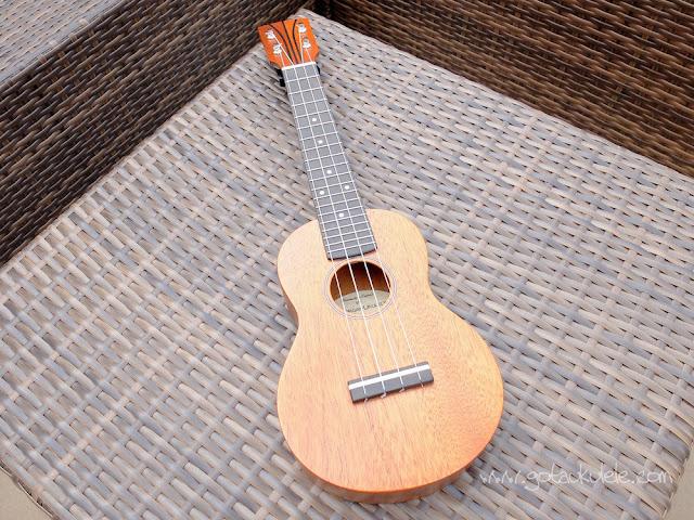 DJ Morgan Soprano ukulele