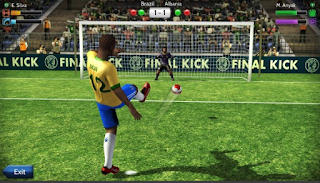 Final kick: Online football - Apl Android di Google Play