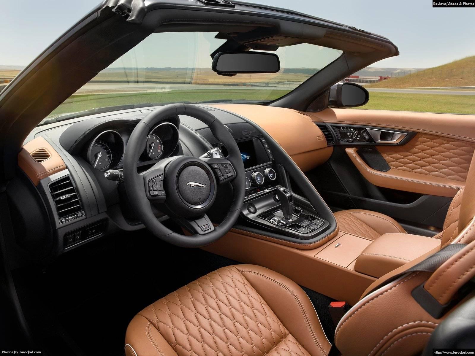 Hình ảnh xe ô tô Jaguar F-Type SVR 2017 & nội ngoại thất