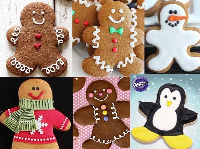 Frieda Loves Bread Festive Holiday Gingerbread Cookie Ideas