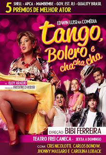 Tango, Bolero e Cha Cha Cha com Edwin Luisi: eu vi