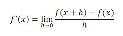 funcion derivada por la definicion