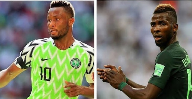 Mikel Absent, Iheanacho Dropped From 23-Man List To Face Seychelles and Egypt .