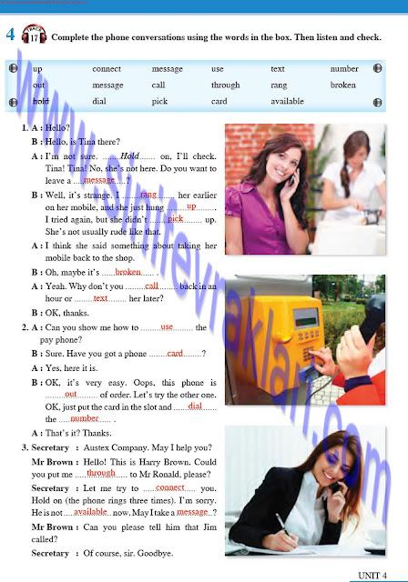Tutku Yayınları 8. Sınıf İngilizce Ders Kitabı Cevapları Sayfa 41