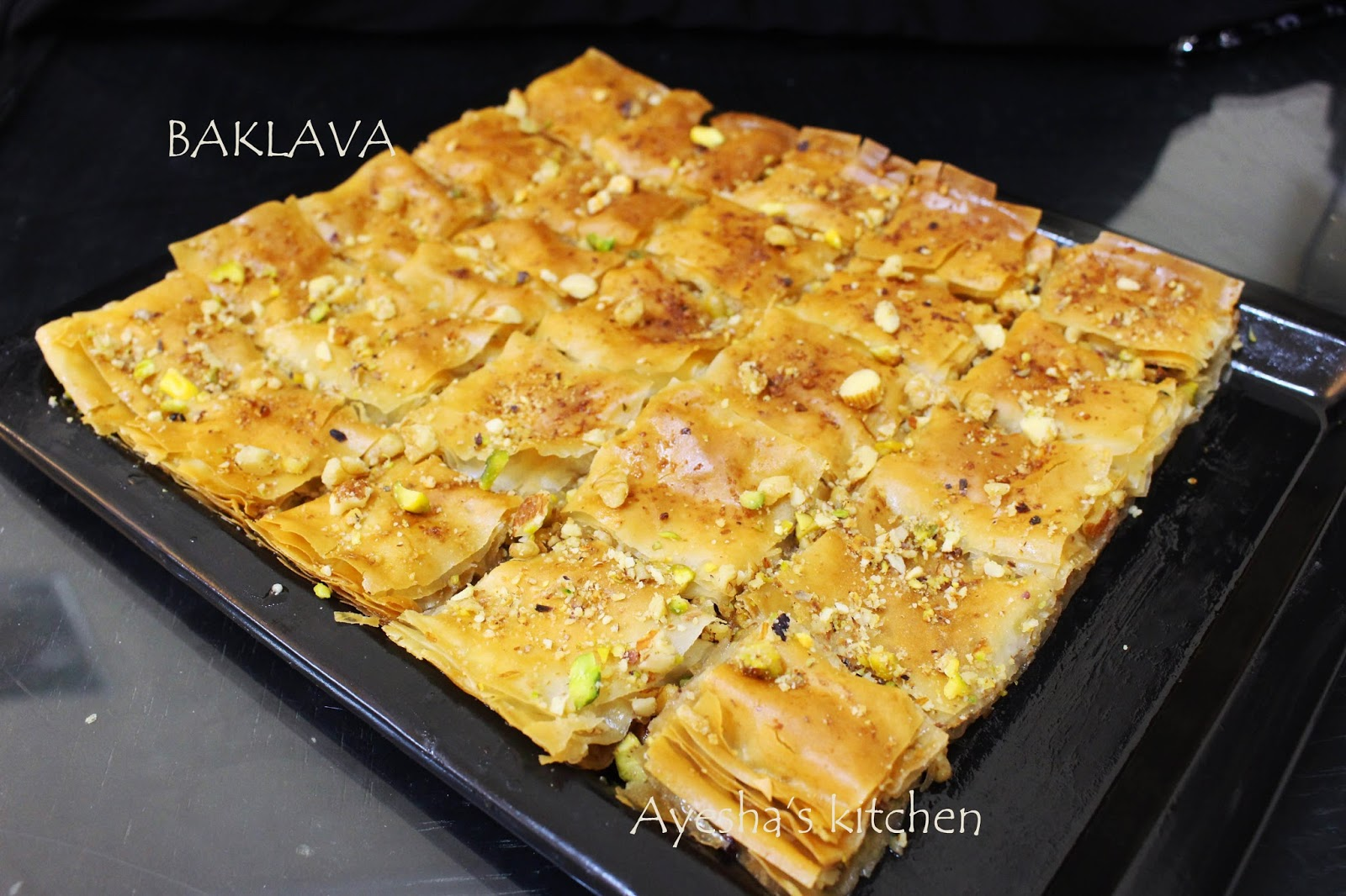 Baklava Recipe How To Make Mixed Nuts Baklava Turkish Watermelon Wallpaper Rainbow Find Free HD for Desktop [freshlhys.tk]