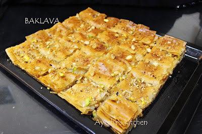 ayeshas kitchen sweets recipes turkish baklava recipes simple perfect baklava recipe bakery style sweets mixed nuts sweets