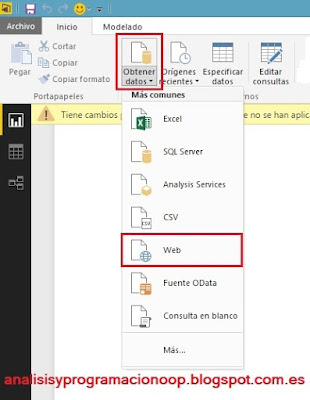 Combinar datos con Power BI