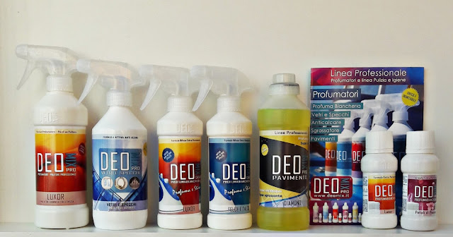 Profumatori e detergenti per casa e bucato