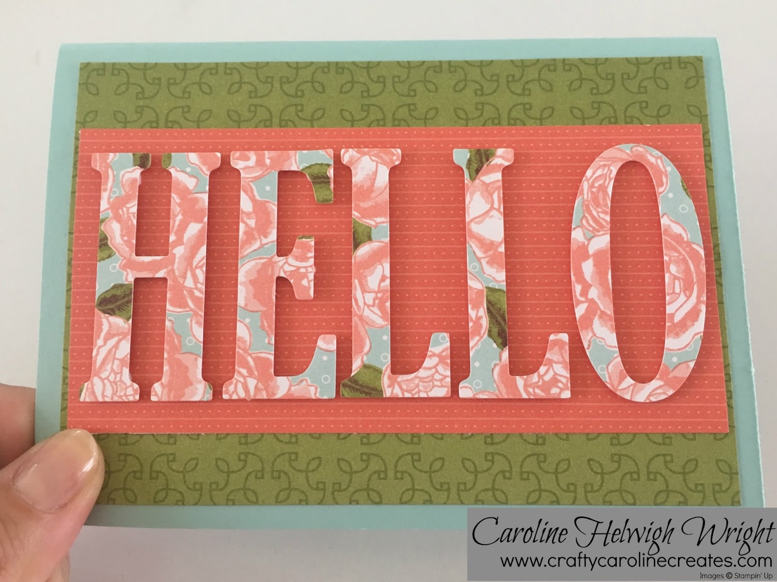 Charmant Petal Garden Hello   Card Inspiration With Stampinu0027 Up Products