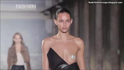 fashion model oops