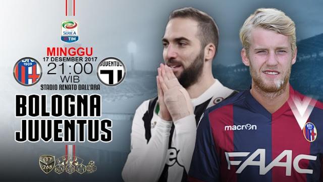 Prediksi Bola : Bologna Vs Juventus , Minggu 17 Desember 2017 Pukul 21.00 WIB