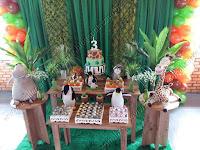 Decoração de festa infantil Madagascar