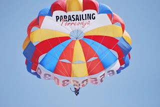 Experiencia parasailing