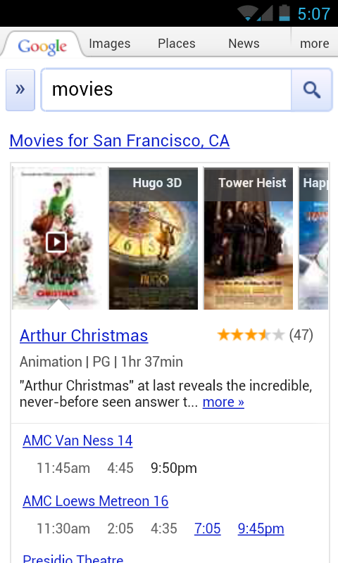 Now playing: Faster movie search on Android and iPhone – SEO