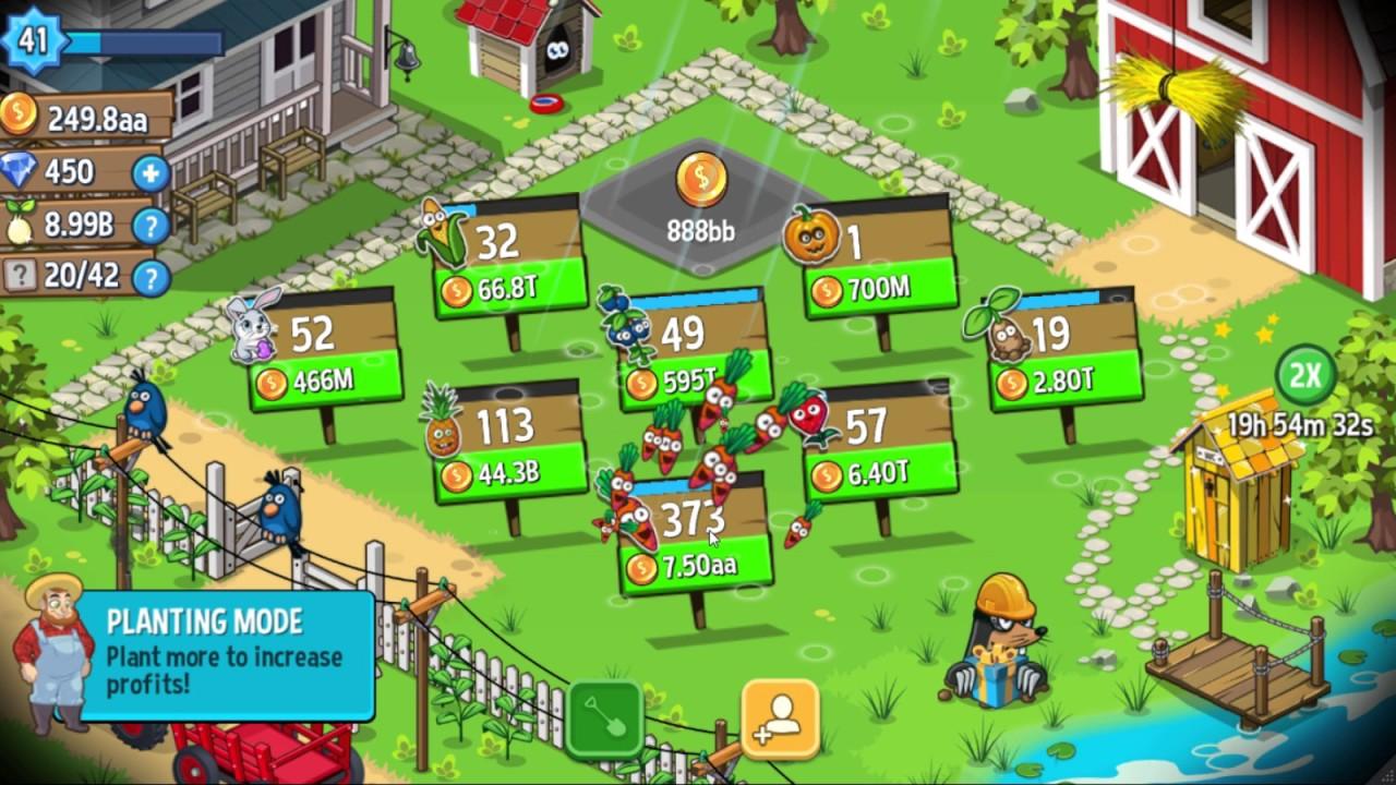 Idle Farming Empire v1.11.2 - Mod Money
