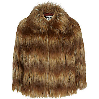 Faux Fur Jacket, River Island