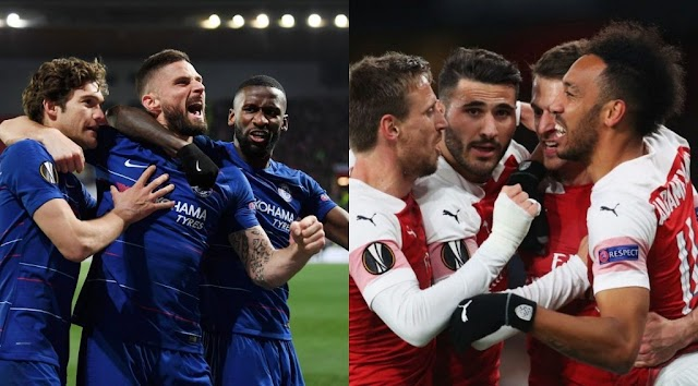 All you need to know in the Europa League semi finals and the Two Premier League teams