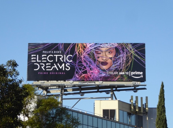 Electric Dreams series premiere billboard